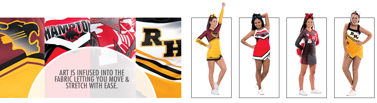 Cheerleading Sublimation UltraFuse Unique Style Uniforms