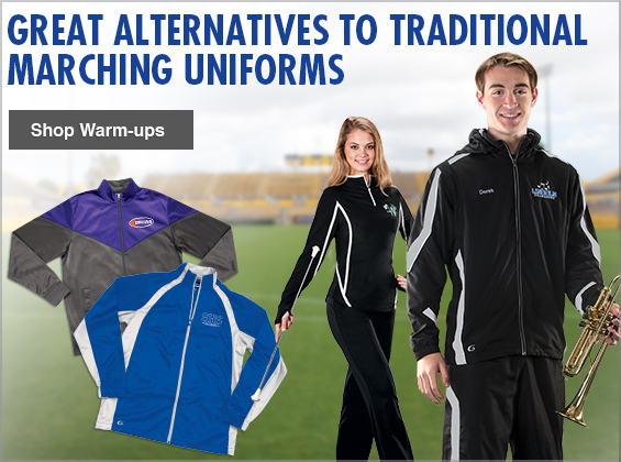 Warm-ups- Great Alternatives to Traditional Marching Uniforms