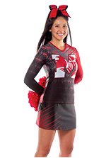 Cheerleader-uniform-ultrafuse-sublimation-live-wire