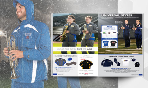 Band warm ups, jackets, apparel, accessories | Champion by GTM